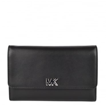 Money Pieces Black Medium Carry All Wallet