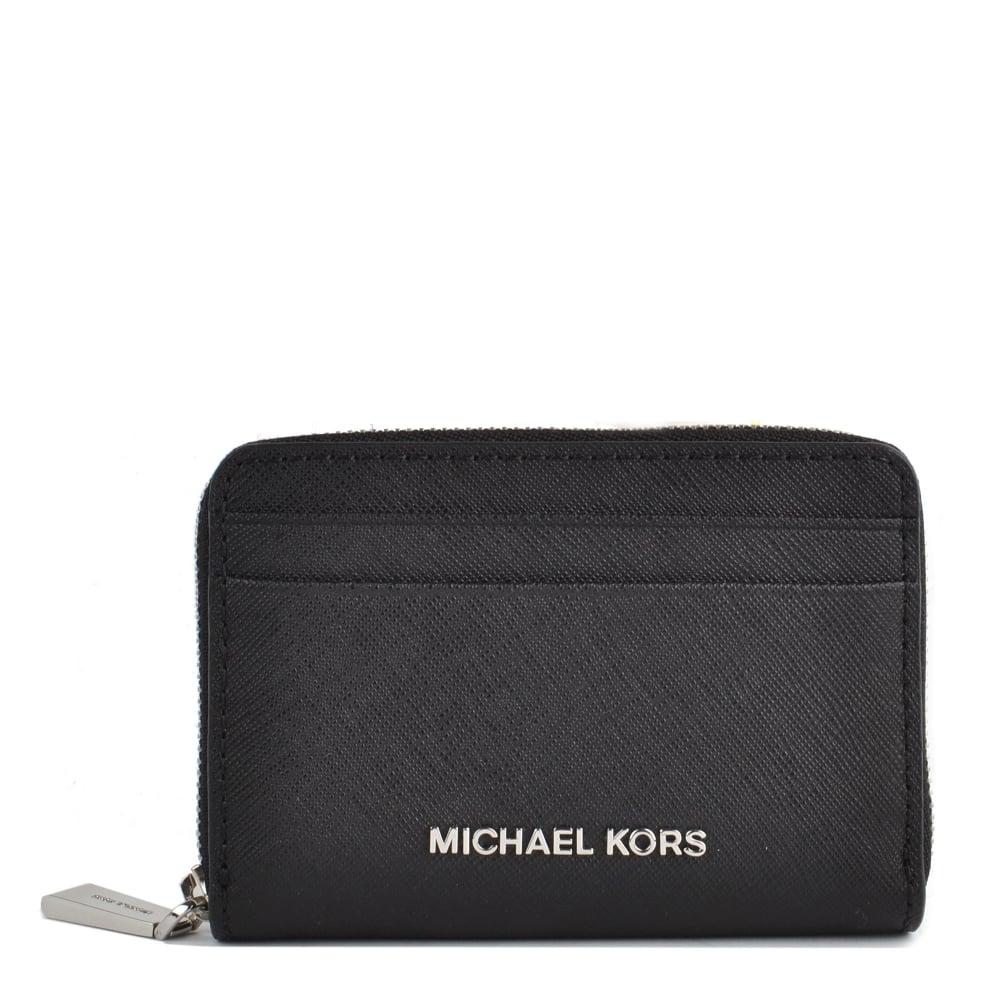da2cf44301c1 MICHAEL by Michael Kors Money Pieces Black Zip Around Card Case