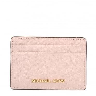 Money Pieces Soft Pink Card Holder