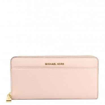 Money Pieces Soft Pink Continental Wallet