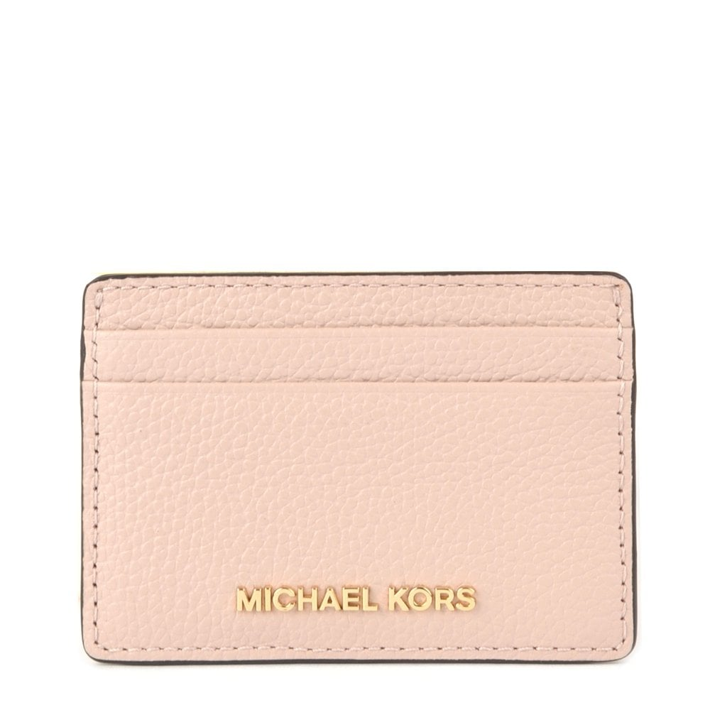 7e006989f1b MICHAEL by Michael Kors Money Pieces Soft Pink Leather Card Holder