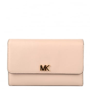 Money Pieces Soft Pink Medium Carry All Wallet