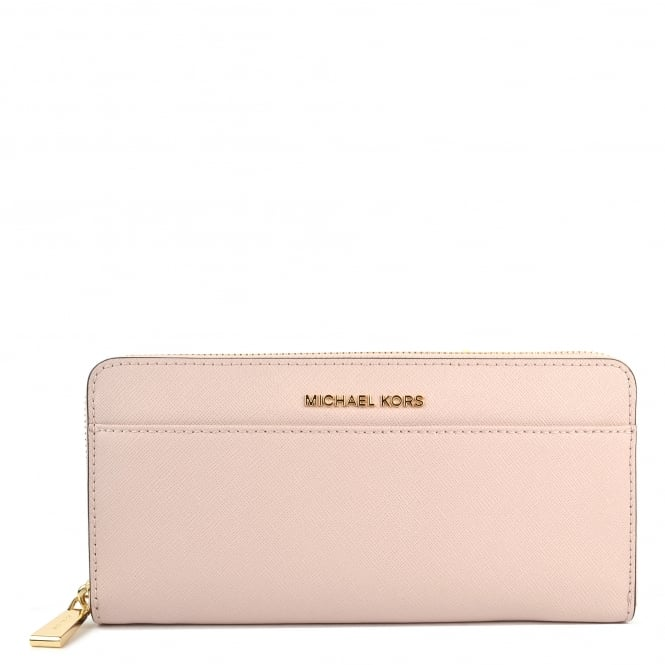 MICHAEL by Michael Kors Money Pieces Soft Pink Pocket Continental Wallet