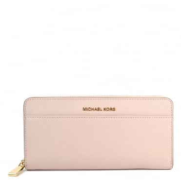 Money Pieces Soft Pink Pocket Continental Wallet