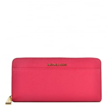 Money Pieces Ultra Pink Pocket Continental Wallet