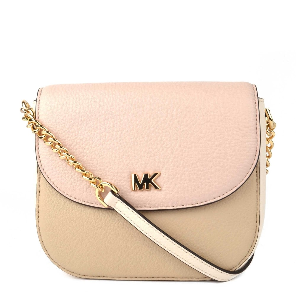 e9c55d198918 MICHAEL by Michael Kors Mott Colour Block Leather Dome Crossbody