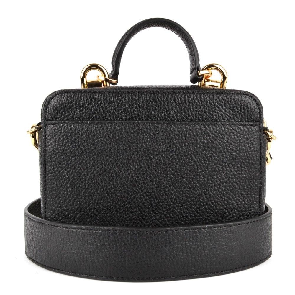 28e4928026a8 MICHAEL by Michael Kors Mott Mini Black Leather Crossbody Bag