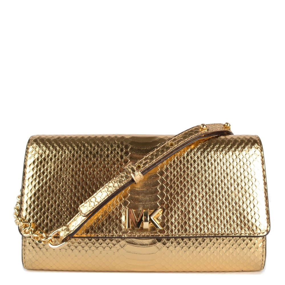 4bf5139c6ece MICHAEL by Michael Kors Mott Pale Gold Wallet Clutch