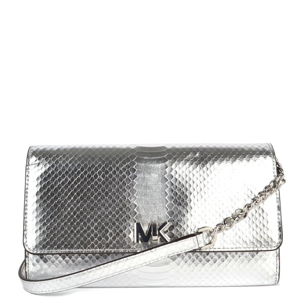 a1456c18828d MICHAEL by Michael Kors Mott Silver Wallet Clutch