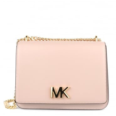 Mott Soft Pink Large Chain Shoulder Bag