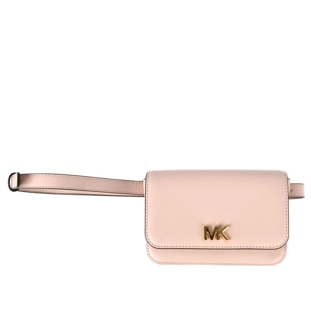 a5d23f9a88 MICHAEL by Michael Kors Mott Soft Pink Leather Belt Bag