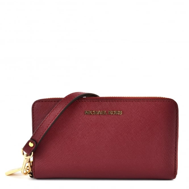 MICHAEL by Michael Kors Mulberry Large Phone Case Wristlet