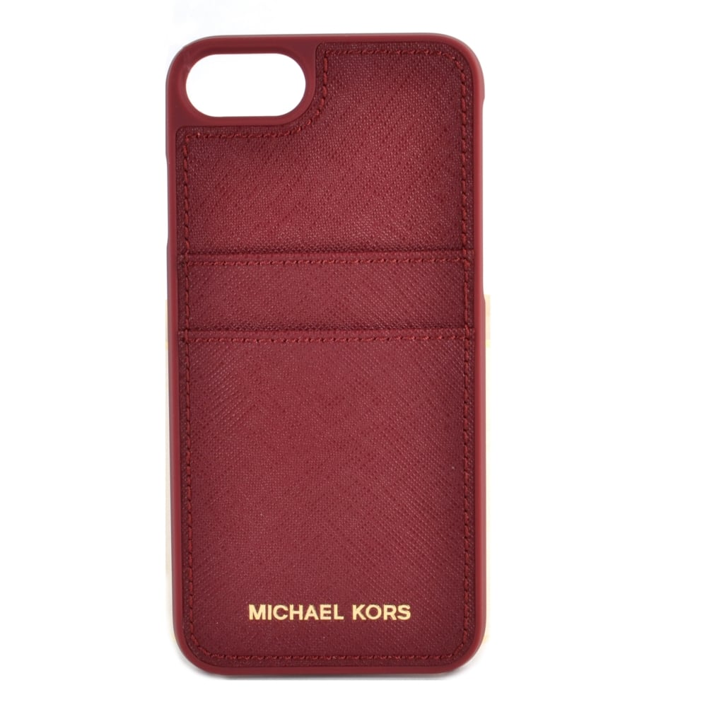 Michael kors iphone case with card slots slot car racing sets nz