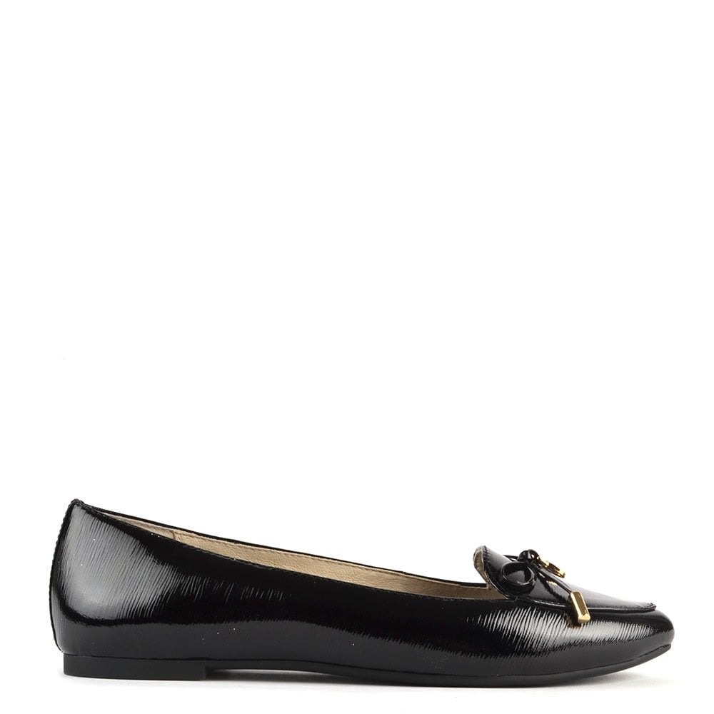 Komfort Michael Michael Kors Nancy Bow Detail Leather Courts