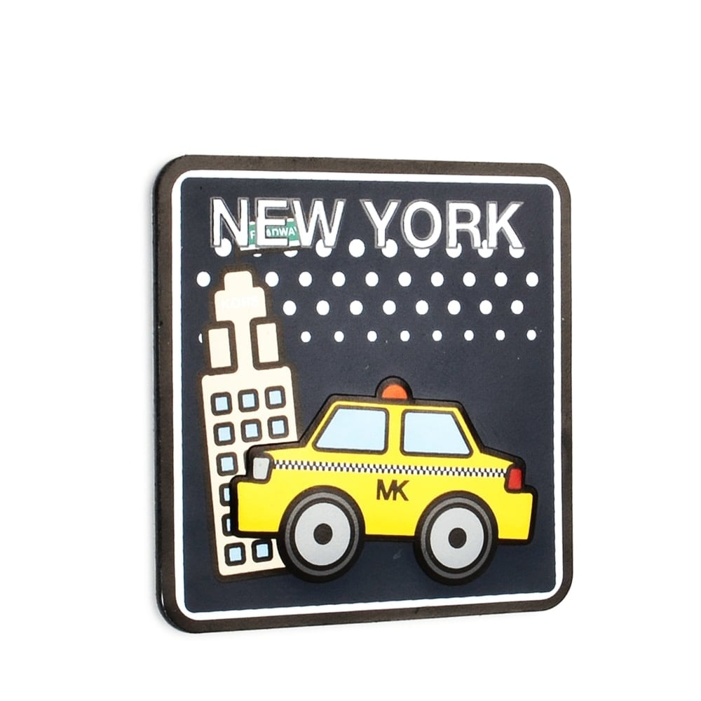 New York Subway Map Leather Taxi Wallet.New York City Leather Sticker