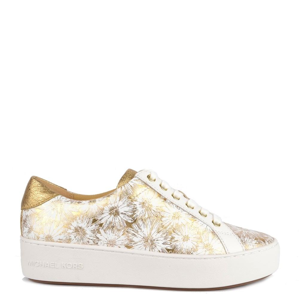 michael kors floral sneakers