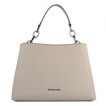 Portia Cement Large Shoulder Bag