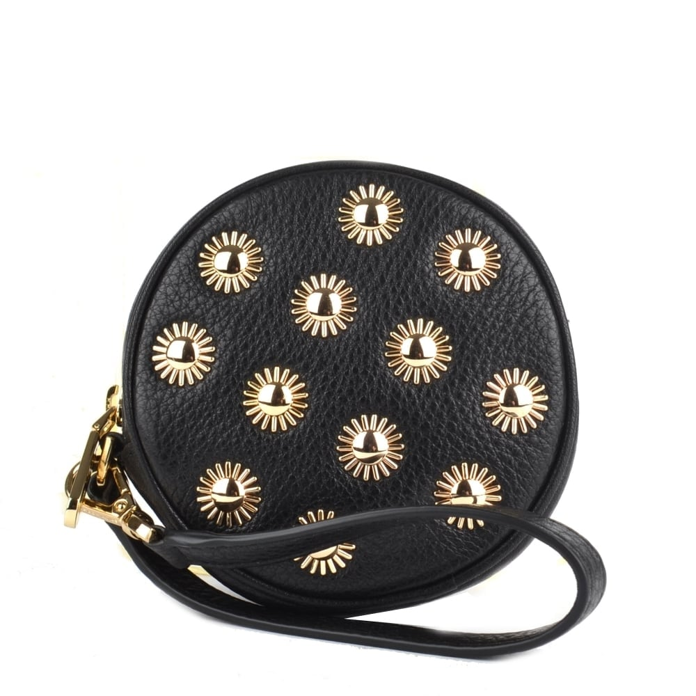 ce813b678f95 MICHAEL by Michael Kors Pouches Black Studded Coin Purse