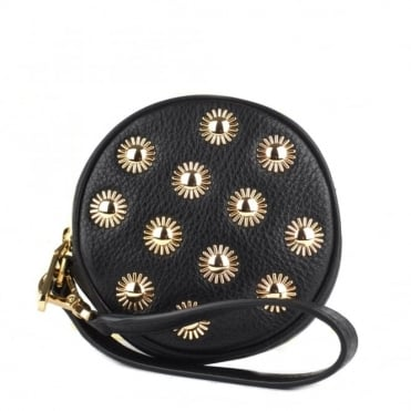 Pouches Black Studded Coin Purse