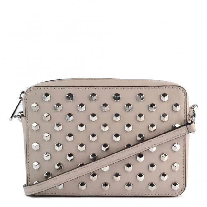 MICHAEL by Michael Kors Pouches Cement 'Beige' Medium Camera Crossbody Bag