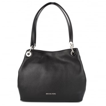 Raven Black Large Shoulder Tote