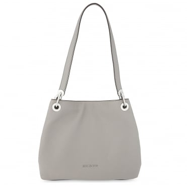 Raven Pearl Grey Large Shoulder Tote