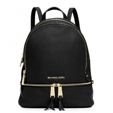 Rhea Black Small Back Pack