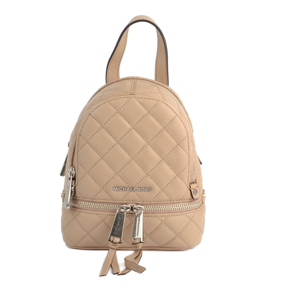 7658f4f4130b MICHAEL by Michael Kors Rhea Zip Bisque Extra Small Back Pack