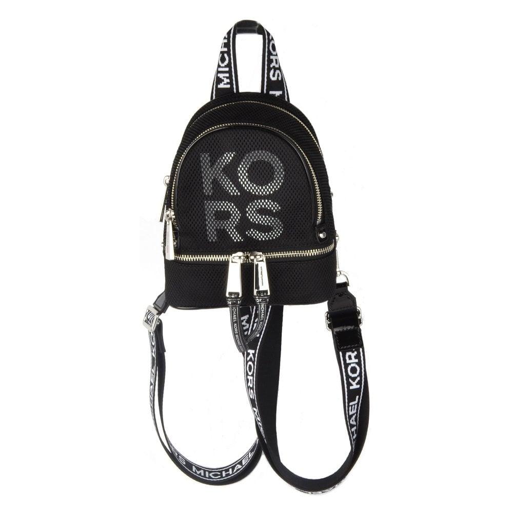 4732dce7e0b5 MICHAEL by Michael Kors Rhea Zip Extra Small Mesh Messenger Backpack
