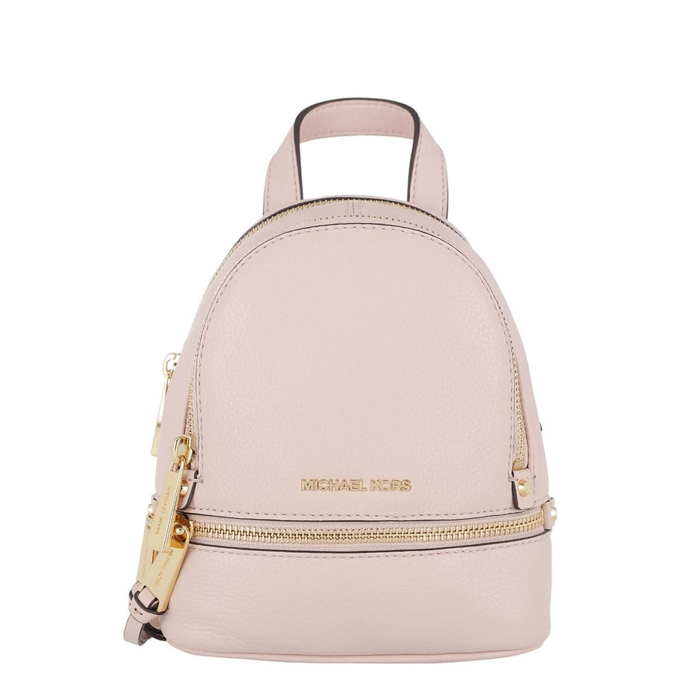263fa8874d1b MICHAEL by Michael Kors Rhea Zip Extra Small Soft Pink Backpack