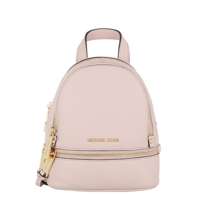 MICHAEL by Michael Kors Rhea Zip Extra Small Soft Pink Backpack