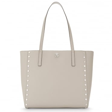 Rivington Cement Large Leather Tote