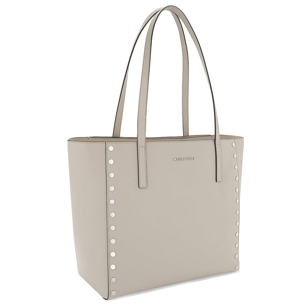 77ae09fbf722 MICHAEL MICHAEL KORS Rivington Cement Large Leather Tote