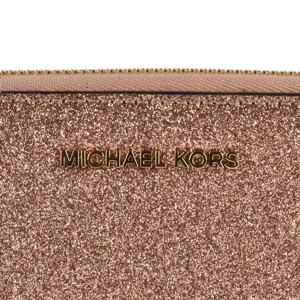 0f4827aaed81 MICHAEL MICHAEL KORS Rose Gold Large Phone Case Wristlet