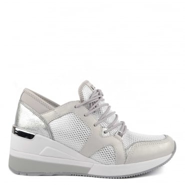 Scout Silver and Optic White Trainer
