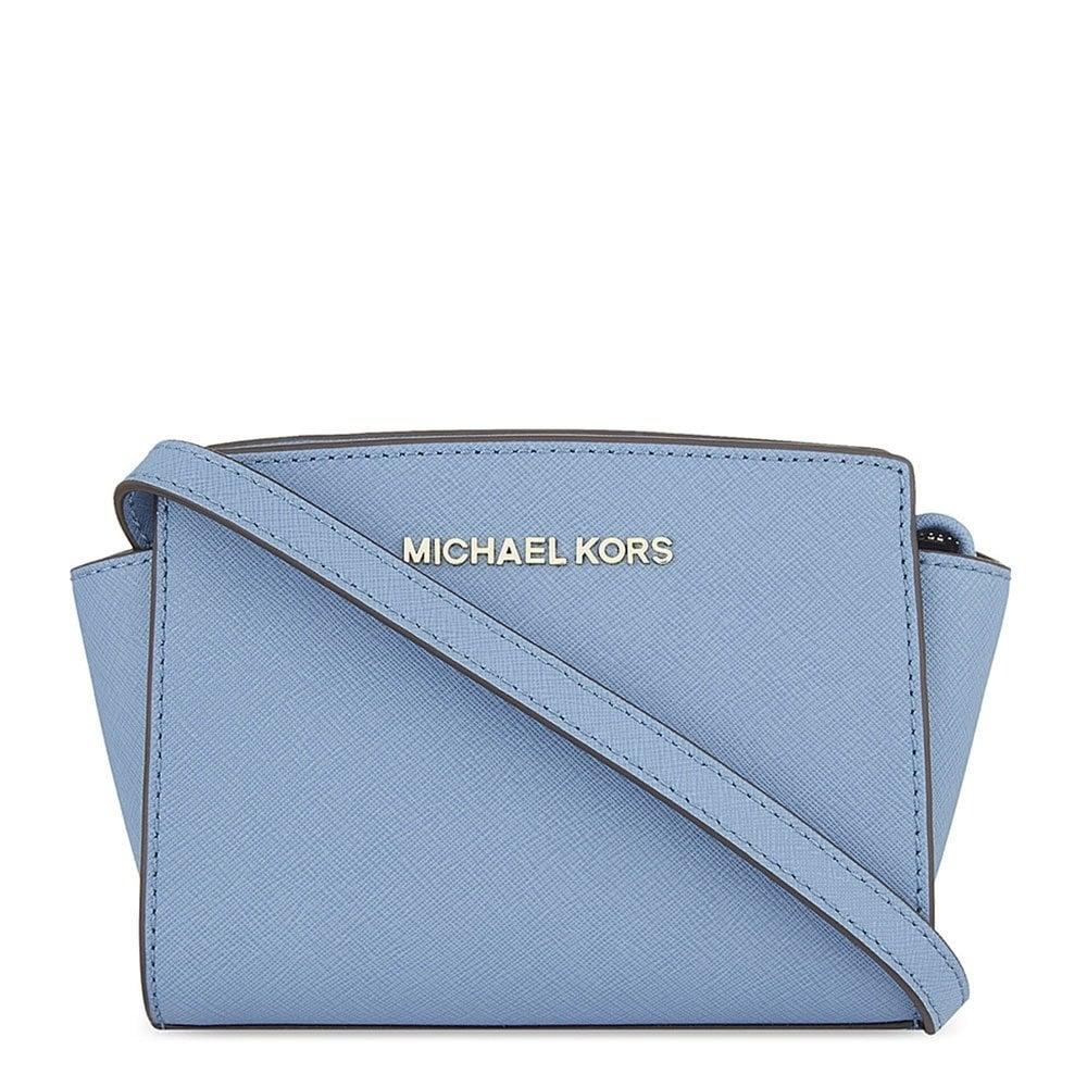685460c230 MICHAEL by Michael Kors Selma Mini Cornflower Messenger Bag - Women ...