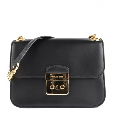 Sloan Editor Black Crossbody Bag