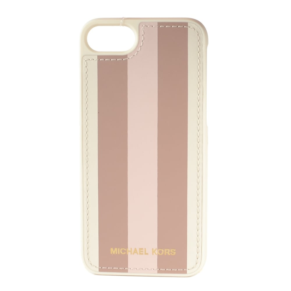 michael kors iphone michael michael kors striped logo iphone 7 567