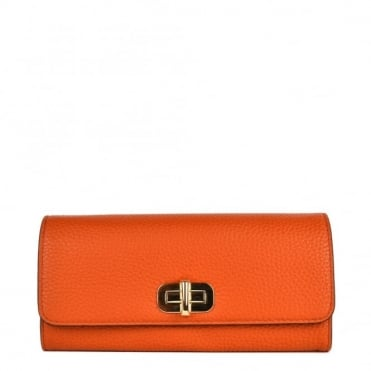 Sullivan Orange Carryall Wallet