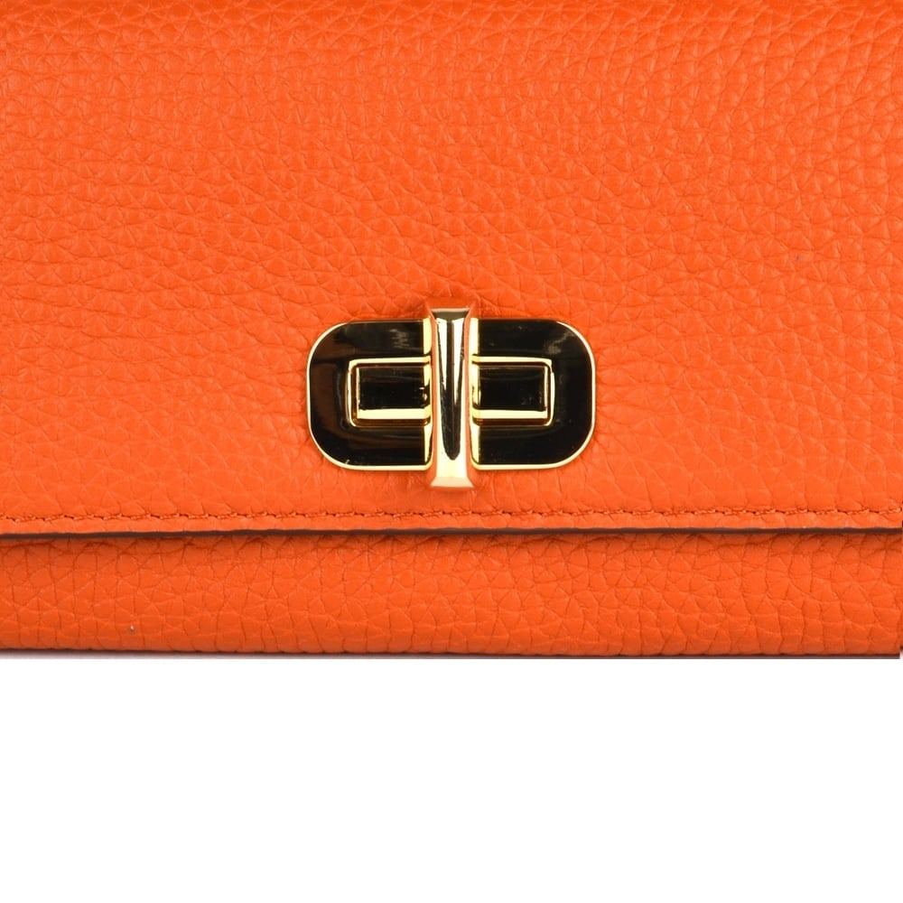 f6030d02ba0e MICHAEL MICHAEL KORS Sullivan Large Orange Carryall Wallet