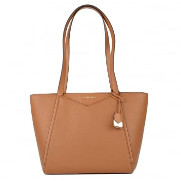 Whitney Small Acorn Leather Tote