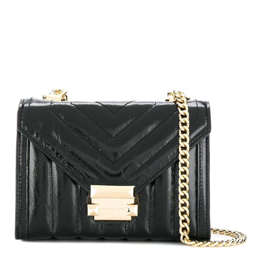 amazing price outlet online wholesale outlet Whitney Small Black Quilted Shoulder Bag