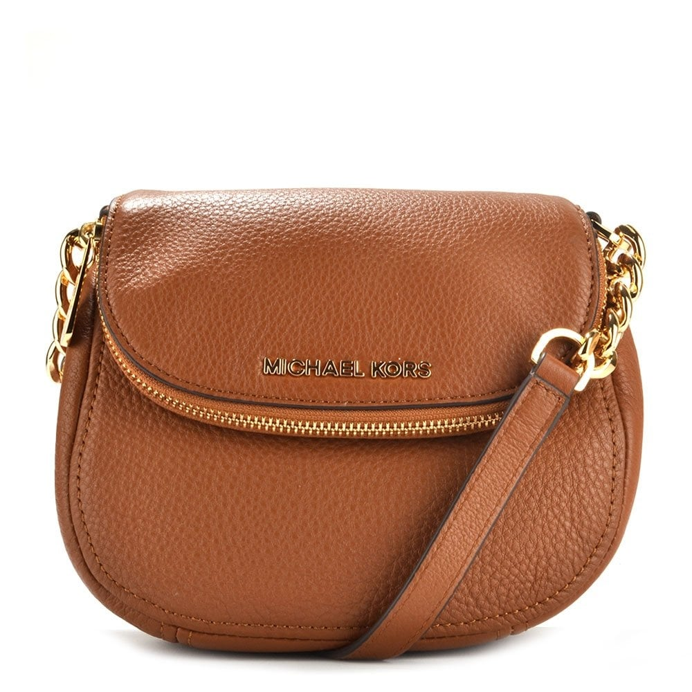 fashionable style cozy fresh select for official Bedford Tan Leather Flap Crossbody