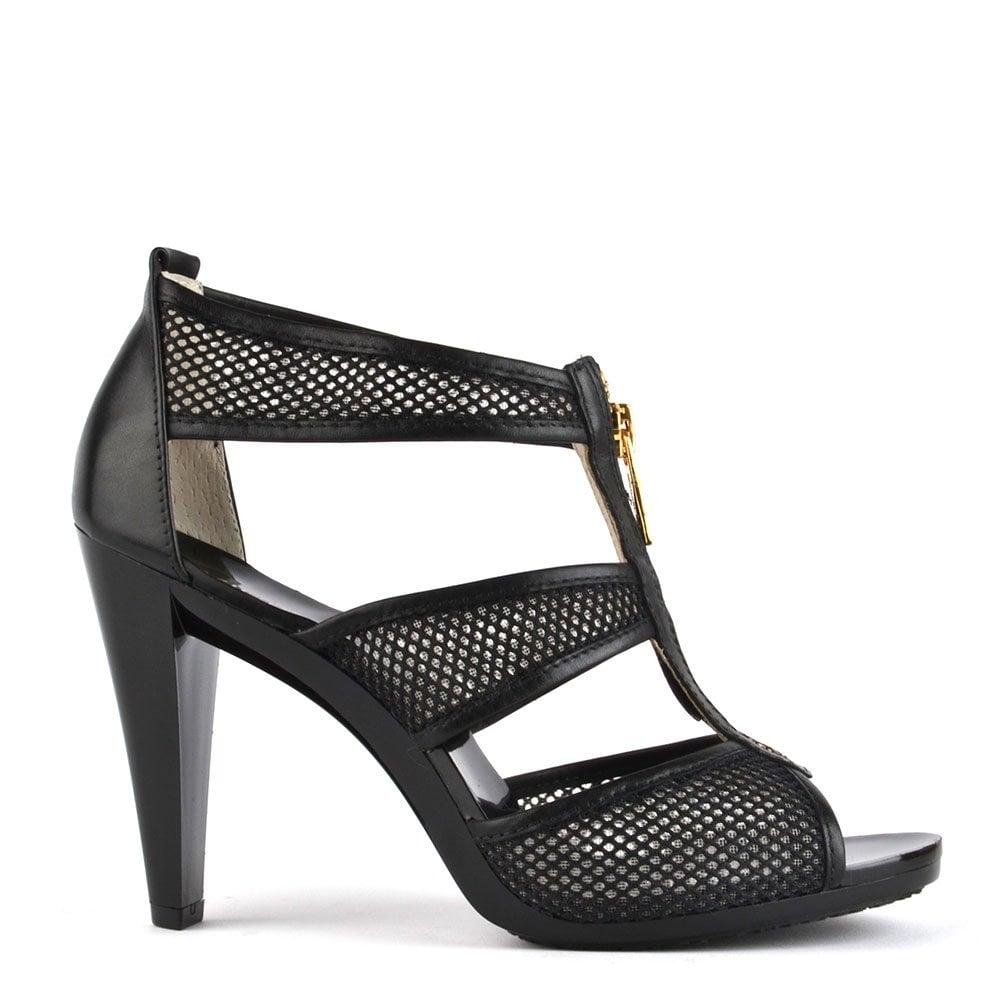 0eda61c27bf3 MICHAEL by Michael Kors Berkley T-Strap Mesh Heeled Sandal - Women ...