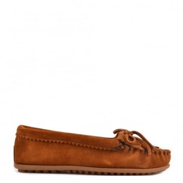 Thunderbird II Brown Suede Moccasin
