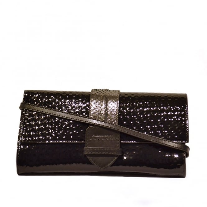 Pauric Sweeney Her Joy Division Black Clutch Bag