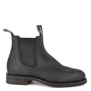 R.M Williams Men's Chinchilla Bordeaux Leather Chelsea Boots