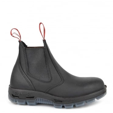 Black UBBK Leather Chelsea Boot
