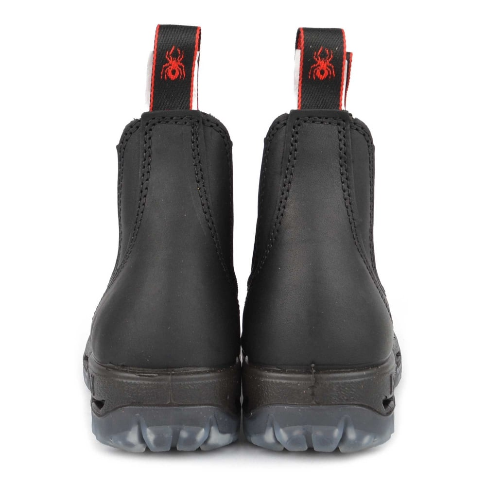 redback black boots