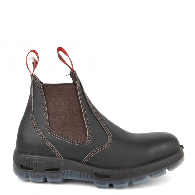 Redback Boots Dark Brown Leather Chelsea Boot